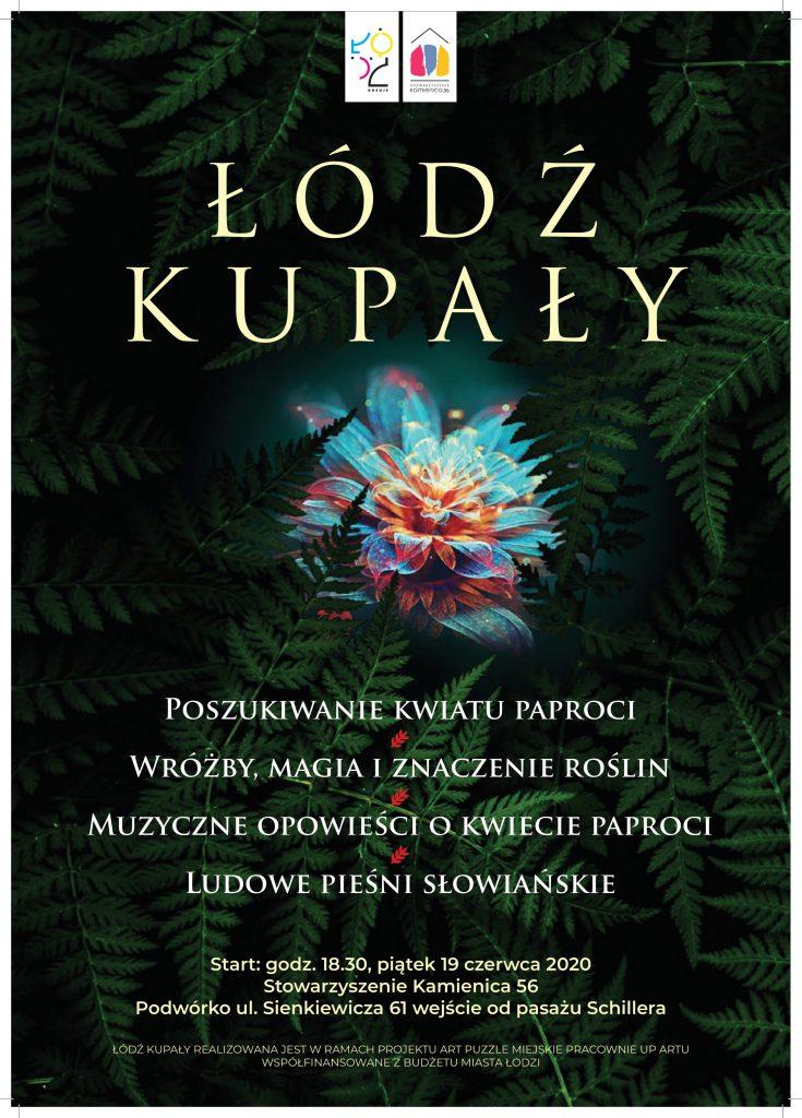 Łódź-Kupały-Plakat wydarzenia