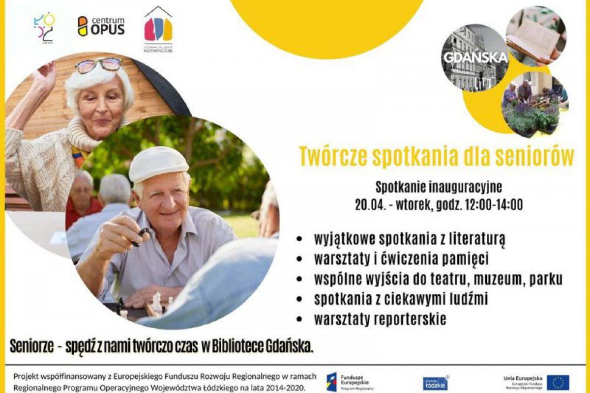 Twórcze spotkania dla seniorów